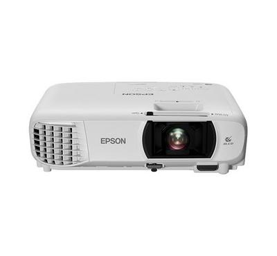 Epson 3LCD Screen Projector 3000lm WiFi FHD White