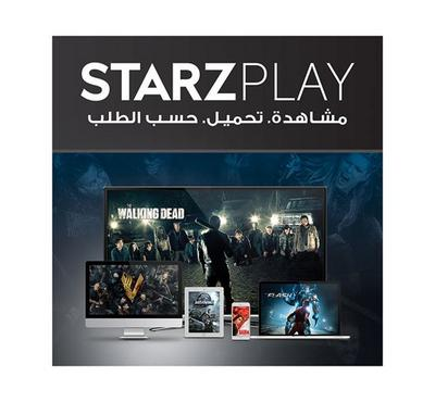 2 Months STARZ PLAY Card--Pre-Paid Card Subscription