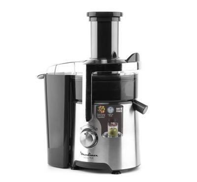 Moulinex Juice Extractor Easy Premium, 800W, Jar capacity 1.5L, 2 Speed, Silver and Black