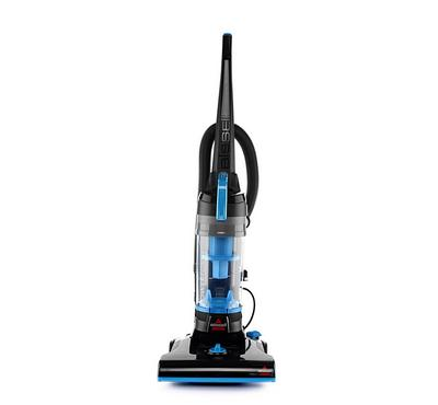 Bissell Powerforce Helix Upright Vacuum, Cyclonic system, Bagless, Black and Blue