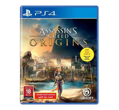 PS4 Game Assassins Creed -Origins Arabic Gulf Version