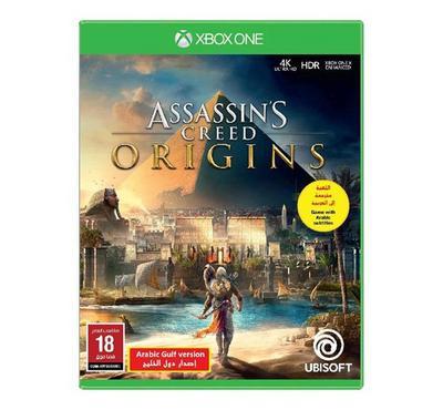 XBOX ONE Game Assassins Creed -Origins Arabic Gulf Version