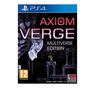 PS4 Game Axiom Verge -Multiverse Edition