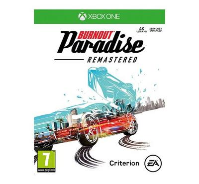 XBOX ONE Game Burnout -Paradise Remastered