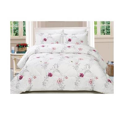 Casa Comfort Set Of 3Pcs, Twin Size, Microfiber, Printed Patterns, 1Pcs Comforter Size