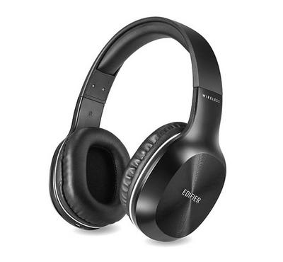 Edifier Headphones, Bluetooth and Wired, Black