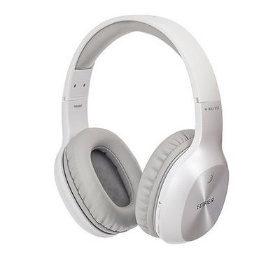 Edifier Headphones, Bluetooth and Wired, White