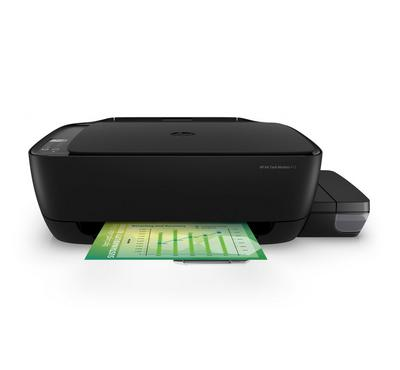 HP Ink Tank Wireless 415 Printer - Print, Copy, Scan, Wireless, Black