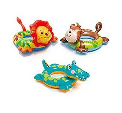 إنتكس، مجموعة عوامات حلقية للسباحة، أشكال حيوانات مختلفة