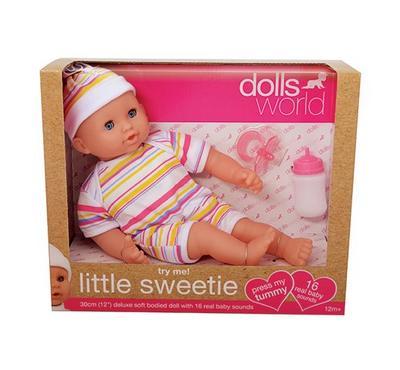 "Dollsworld Little Sweetie 30cm (12"") 16 Sound Try Me"