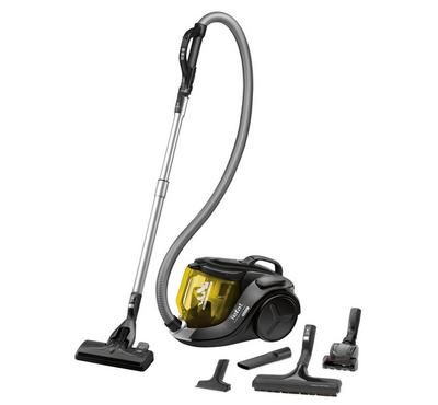 Tefal Extreme Power Cyclonic Vacuum Cleaner, 750W-2000W, Capacity XL 2.5L,Colour Black and Chamomile