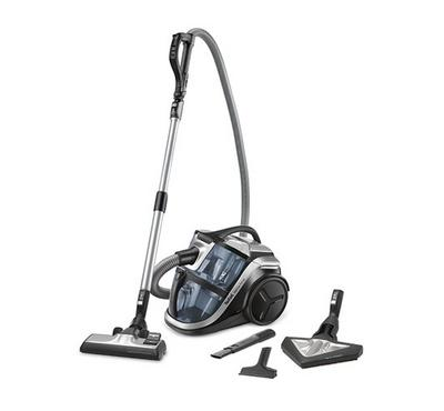 Tefal Silence Force Multi-Cyclonic Vacuum Cleaner, 1100w-2100w, 2L,Slate Grey