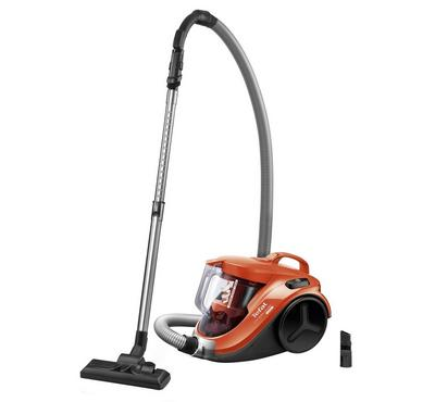 Tefal Compact Cyclonic Vacuum, 750w-2000w, Swinging Orange