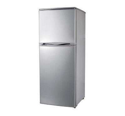 Power 170 Ltr Double Door Refrigerator, Net Capacity 142L Silver