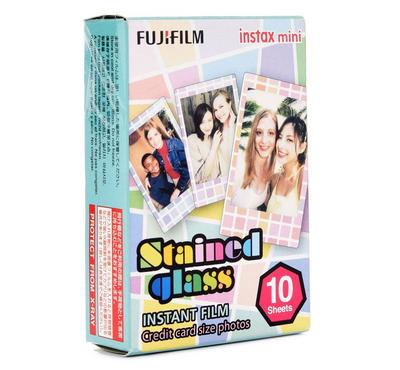 Fujifilm instax mini stained glass Instant Film (10 PICS)