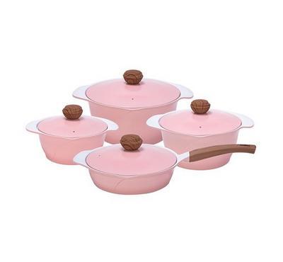 Alberto Cookware Set Of 7pcs,  Ceramic