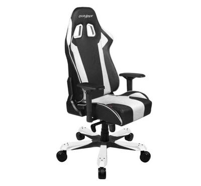 Dxracer King Series Gaming Chair Black and White
