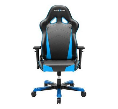 Dxracer Tank Series Gaming Chair Black and Blue