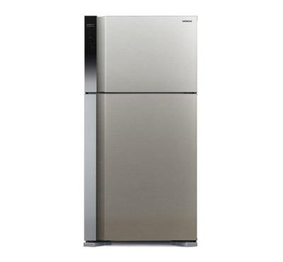 Hitachi 565L 510L Net Capacity, Double Door Fridge Silver
