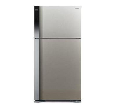 Hitachi Fridge, Double Door, Touch Control, 760 L, Silver