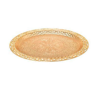 صينية تقديم تصميم تركي لون ذهبي