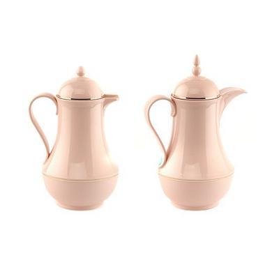 دلتى طقم دلات للقهوة والشاي قطعتين