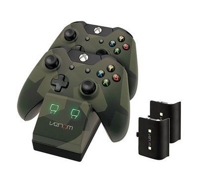 Xbox One Twin Docking Station Camo