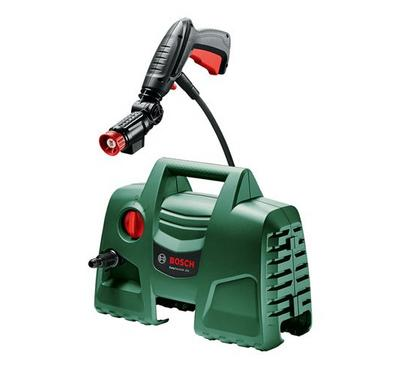 Bosch Easy Aqutak 100, 1200W, 100 Bar Pressure Washer with 360 Degree Gun