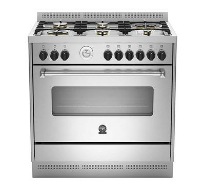 La Germania Cooker, 90 x 60, 6 Burner, Stainless Steel