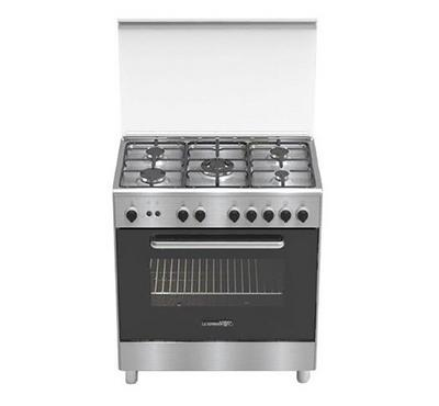 La Germania 80x50cm Free Standing Cooker Stainless Steel