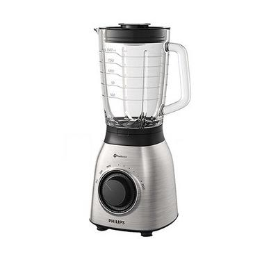 Philips VIVA COLLECTION 2.0L Blender Glass Jar 900W Stainless. Stainless Steel