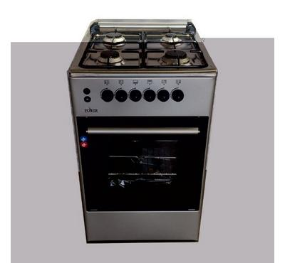 Power 50 x 50 Free Standing 4 Burner Cooker Stainless Steel