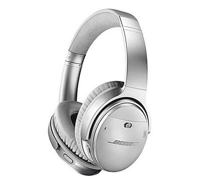 Bose QuietComfort 35 Series II Wireless Noise Cancelling Headphones Silver