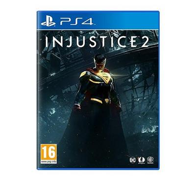 Warner Brothers PS4 Injustice 2 Legendary Edition Steel Book - PEGI - R