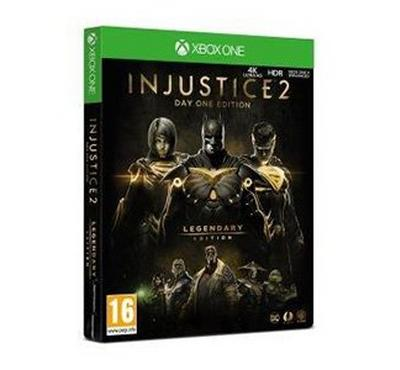 Warner Brothers Xbox One Justice 2 Legendary Edition Steel- PEGI- R