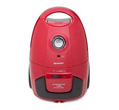 Sharp 1600W Vacuum Cleaner Red