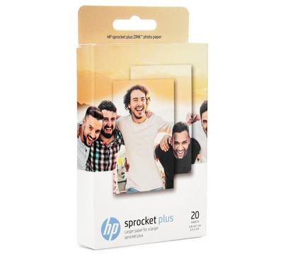 HP ZINK Sticky Paper-20 sht/5.8 x 8.7 cm for sprocket plus