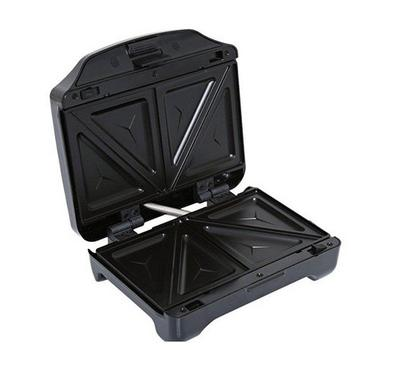 Geepas 3-in-1 Detachable Sandwich Maker Black