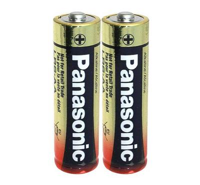 Panasonic 2AA Size Alkaline Battery 1.5V Pack of 2 Gold