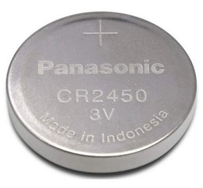 Panasonic CR2450 Coin Size Lithium Cell Battery 3V Pack of 5