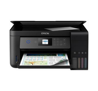 EPSON L4160 Inkjet Printer, Print- Scan- Copy, Black