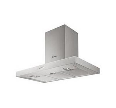Candy 90 cm 3 Speed Chimney Cooker Hood Inox