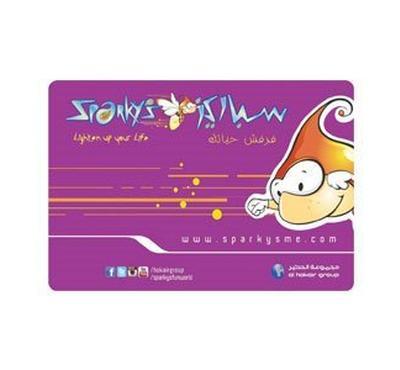 بطاقة ألعاب سباركيز 250 ريال