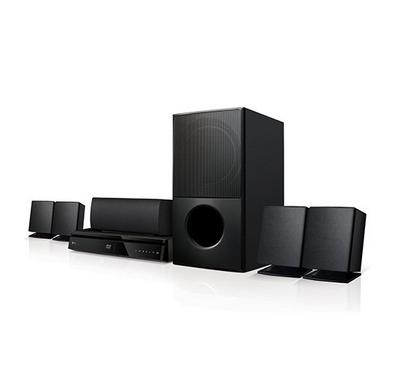 LG 5.1Ch DVD Mini-Home Theatre System 1000W RMS Black
