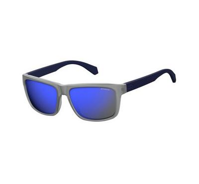 Polariod Mens Matt Blue Sunglasses