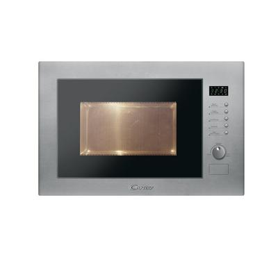 Candy 60cm 25L Built-in Microwave with Grill Inox