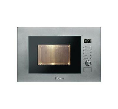 Candy 60cm 20L Built-In Microwave with Grill Inox