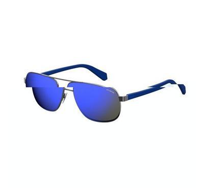 بولارويد نظارة شمسية للرجال لون فضي غامق