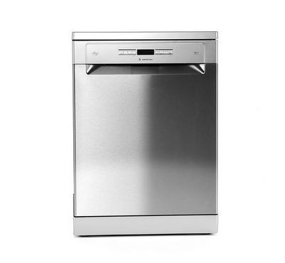 Ariston LFO3P23WLX60HZ, Dishwasher, 9 Programs, 15 place settings, Silver