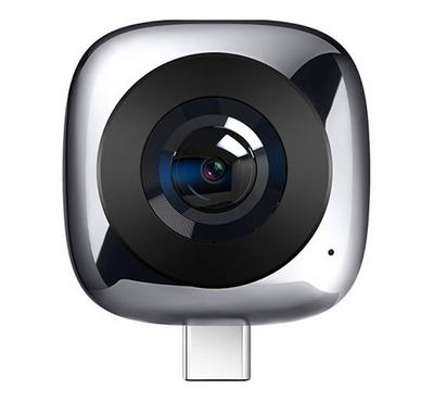 HUAWEI EnVizion 360 Panoramic VR Camera, 13MP, Gray